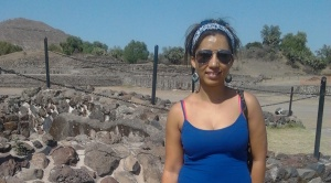 me at mexican pyramids