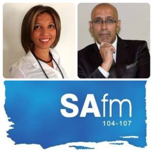 In the Spotlight interview with Ashraf Garda on SAFM, 2015