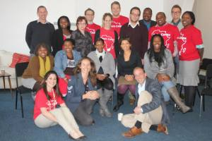 Hosting Bain & Co for Nelson Mandela Day