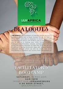 I AM AFRICA Facilitator Training for Community Dialogues