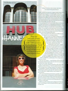 Destiny Magazine Feature, 2014